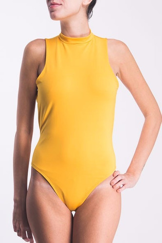 bodyfactory - body polera espalda descubierta colaless skay