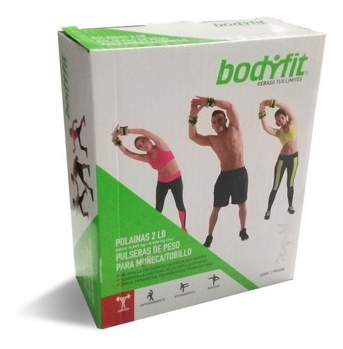 bodyfit polaina pulsera de 2lbs 906g  bf-an3340-2 1 par