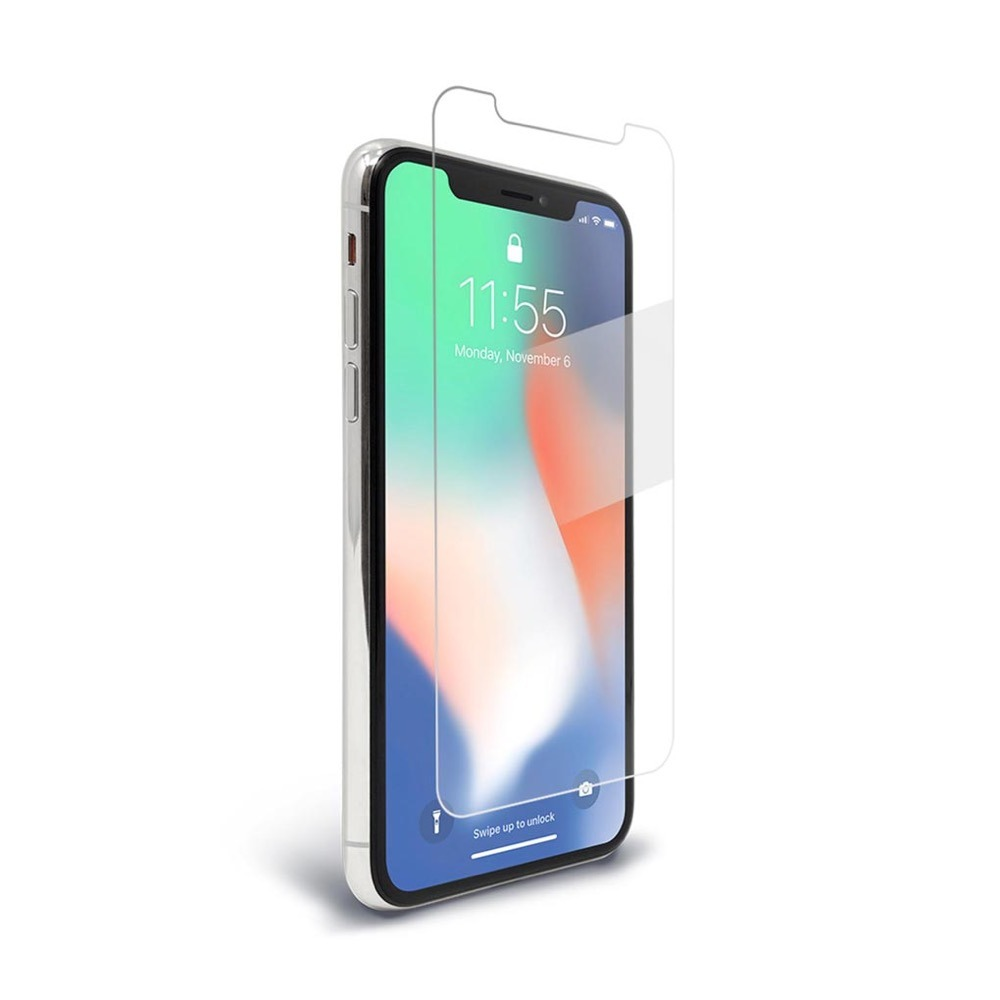 best service d182c 28684 Bodyguardz Spyglass 2 Way Screen Protector For iPhone X