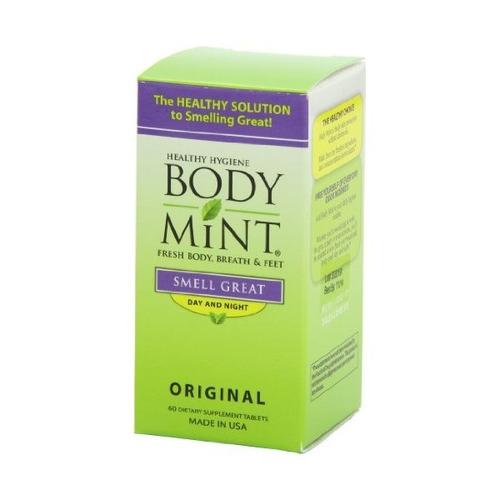 bodymint, 60 unidades de la botella