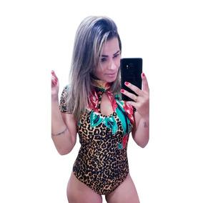 d5612ddf9 Body Feminino Revenda - Camisetas e Blusas Body Feminino Manga Curta com o  Melhores Preços no Mercado Livre Brasil
