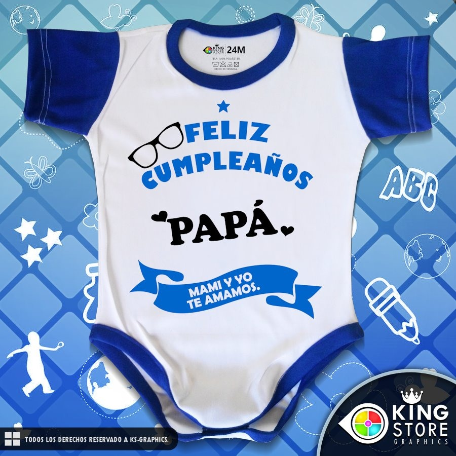 bodys de bebe personalizados   linea para papi! Cargando zoom. cd08a9dfef3