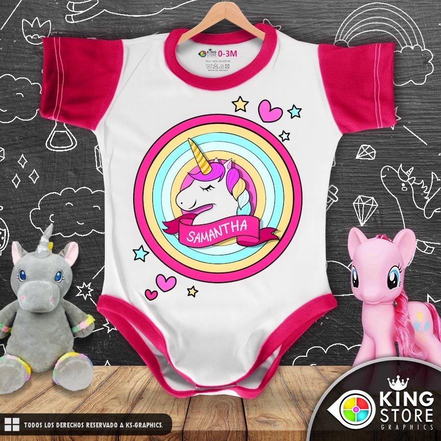 7982e3f3b1a bodys de bebe personalizados   linea unicornio 2! Cargando zoom.