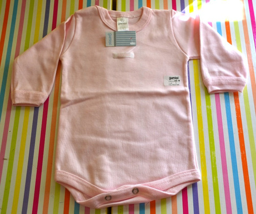 bodys lisos gamise 2016 4 colores 0-18 meses little treasure