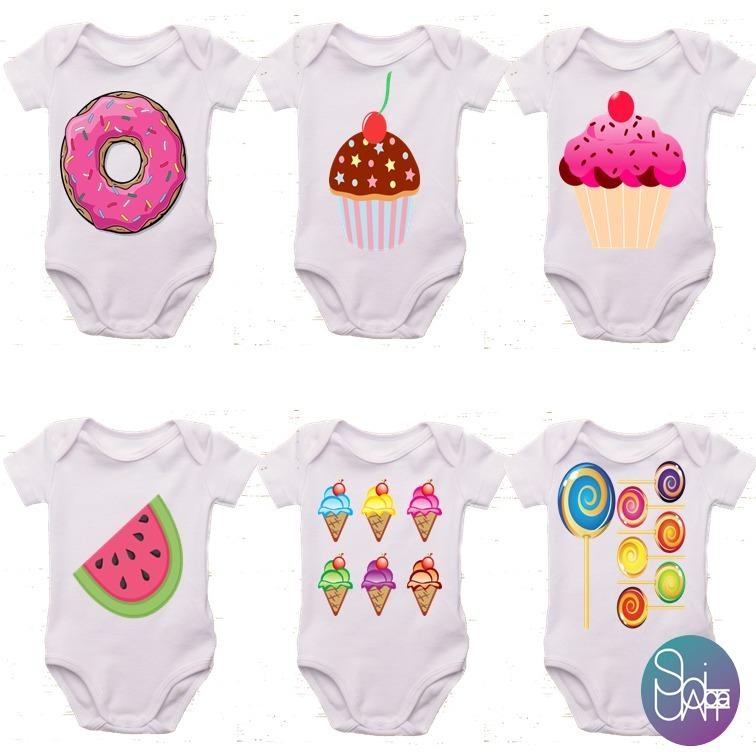 0aabe81dd Bodys Para Bebes Estampados Personalizados - S  22