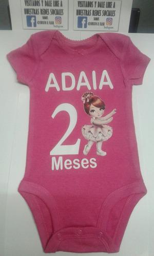 bodys personalizadas para bebes