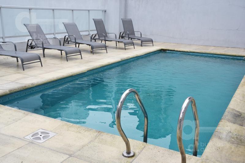boedo- 2 ambientes al frente con balcón- amenities- alquiler temporario-sin garantia