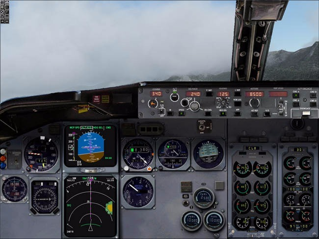 Boeing 737 Com Gps E Fms Para Fsx