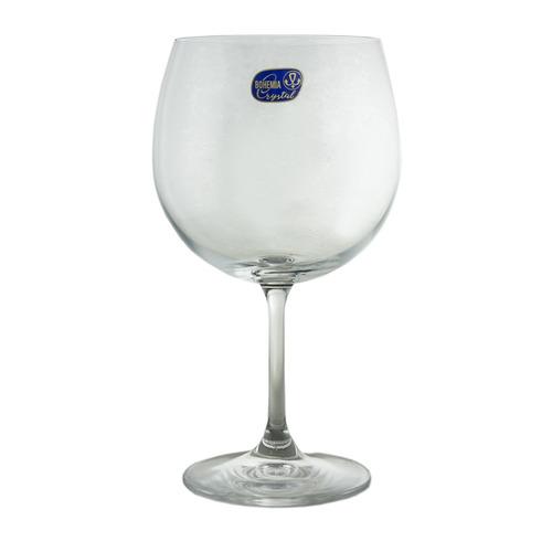 bohemia conjunto de 6 taças para gin em vidro 600ml roberta