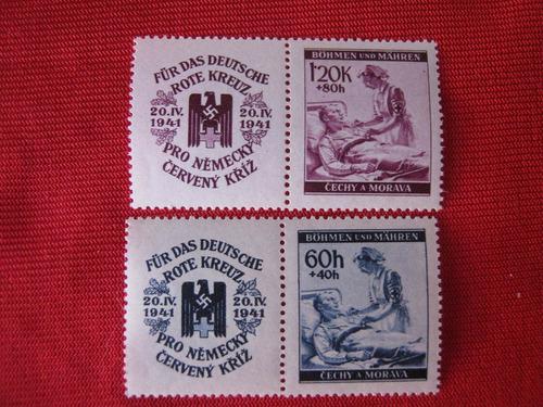 bohemia y moravia ocupación alemana serie mint