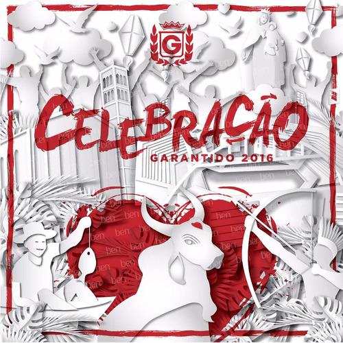 boi garantido 2016 - celebração - cd novo lacrado