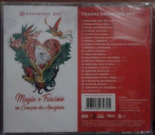 boi garantido 2017 - magia e fascínio no coração da amazônia
