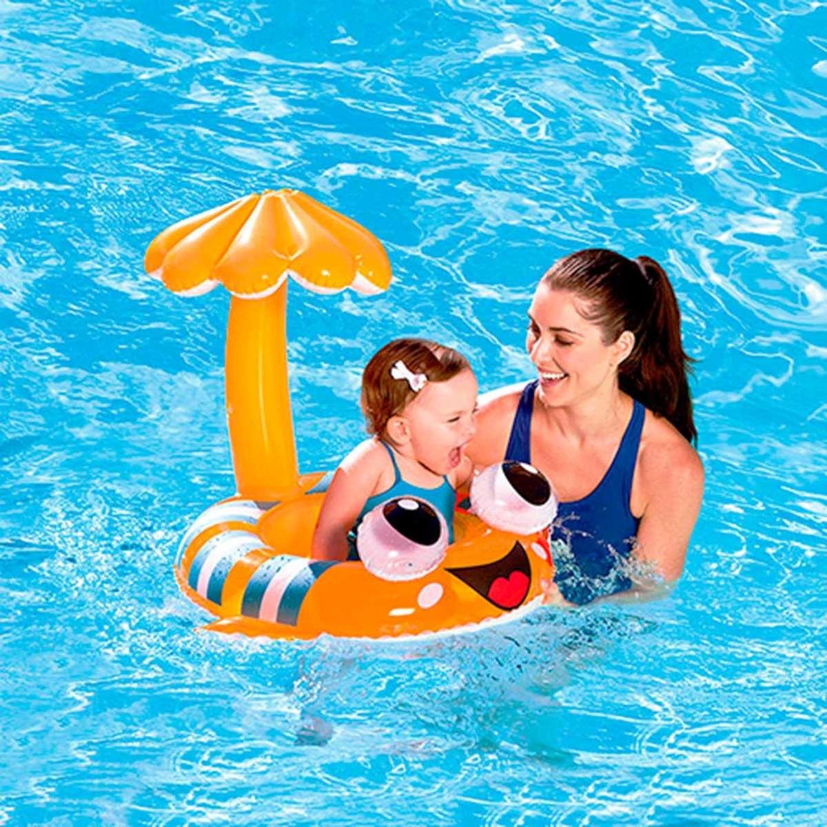 Boia beb nemo infl vel cobertura prote solar piscina for Piscina p bebe