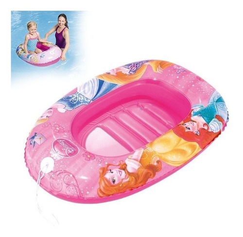 boia bote inflável princesas disney piscina e praia 1,02x 69