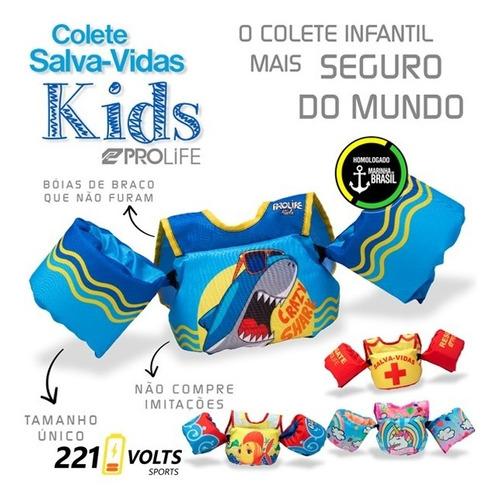 boia colete salva vidas infantil homologado prolife full