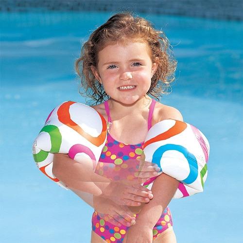 boia de braço para criança acima de 2 anos roll-on ntk