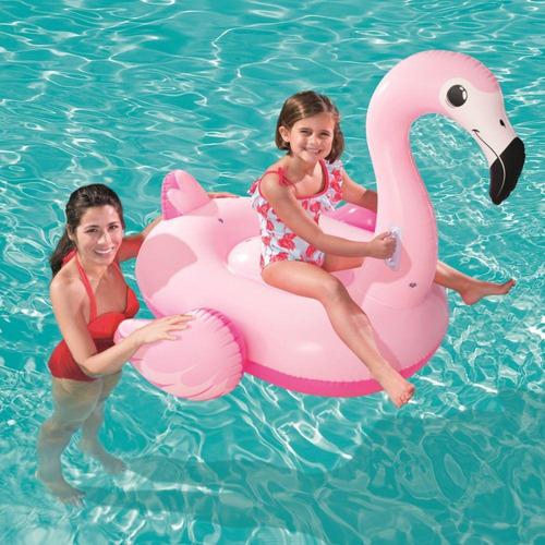 boia divertida bestway flamingo 41099 137x109cm