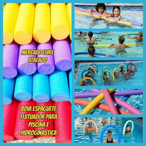 boia espaguete macarrão flutuador para piscina kit 05+brinde