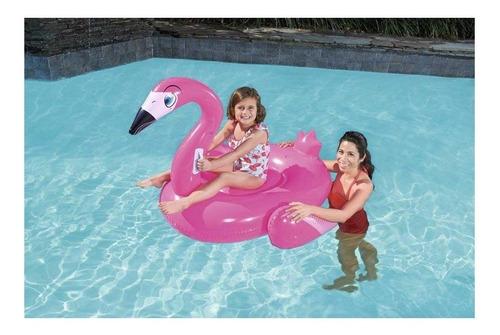 boia flamingo pink bestway infantil