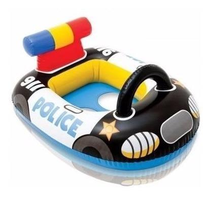 boia fralda inflável infantil bebe carro de policia