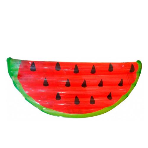 boia inflável gigante melancia colchão piscina festas praia