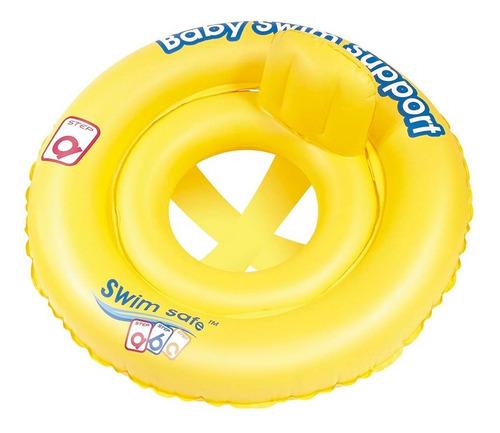 boia inflável infantil c fralda minha primeira boia piscina bebê criança 1804 - mor