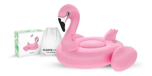 boia inflável premiu flamingo rosa grande piscina praia mar