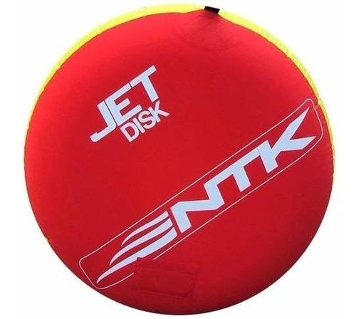 boia jet disk nautika+ cabo p/ puxar lancha + inflador 12v