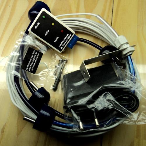 bóia nível eletrônico para 3 caixas dágua só monitoramento