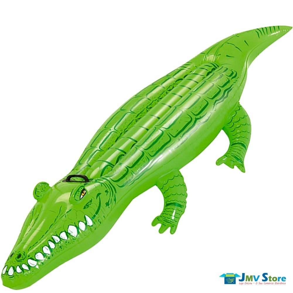 Boia Piscina Crocodilo Grande + Baleia Grande - R  111,00 em Mercado ... ed2511b988