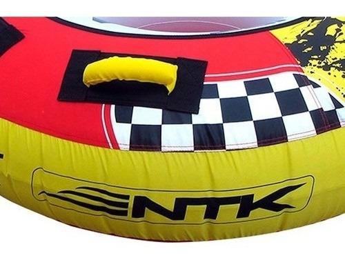 boia reboque inflavel jet disk nautika ski barco lancha + nf