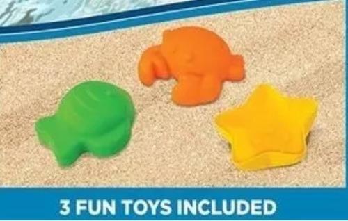 boia rosa inflável piscina bebe c brinquedo e protetor solar