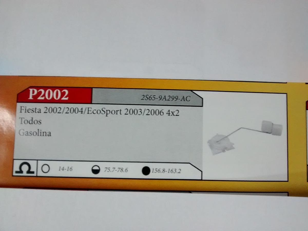 Boia Sensor Combustivel Refil Fiesta 02/ Ecosport 03/ P2002 - R$ 121
