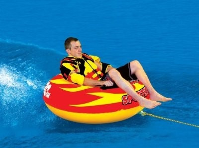 boia sportsstuff vip sportstube - rebocavel jet ski lancha