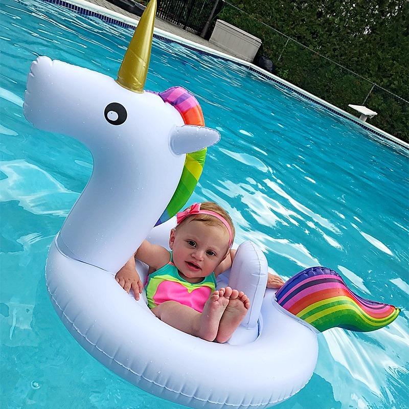 Boia unic rnio beb piscina praia pronta entrega oferta for Piscina bebe con parasol