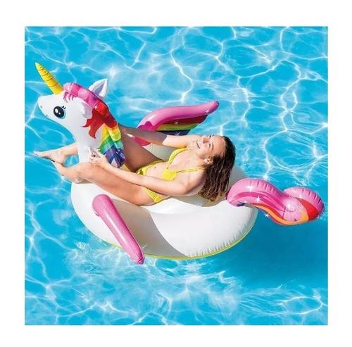 boia unicórnio flamingo inflável gigante super oferta!!!
