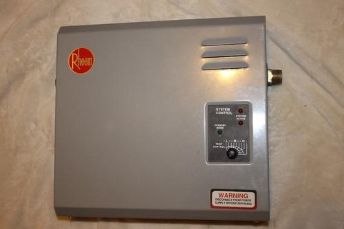 boiler / calentador de paso electrico rheem nuevo