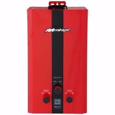 boiler calentador de paso instantáneo mirage flux6l gas lp