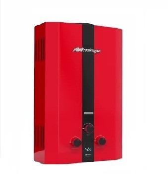 boiler instantaneo 6 litros mirage rojo gas natural