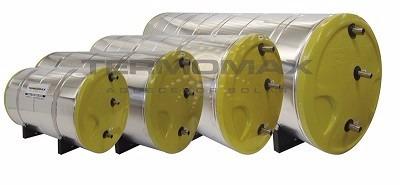 boiler solar - 1000 litros - aço 316 - alta pressão