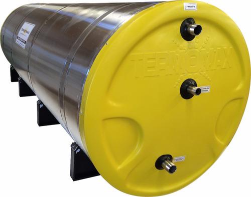 boiler solar - 1000 litros - aço 316 - baixa pressão
