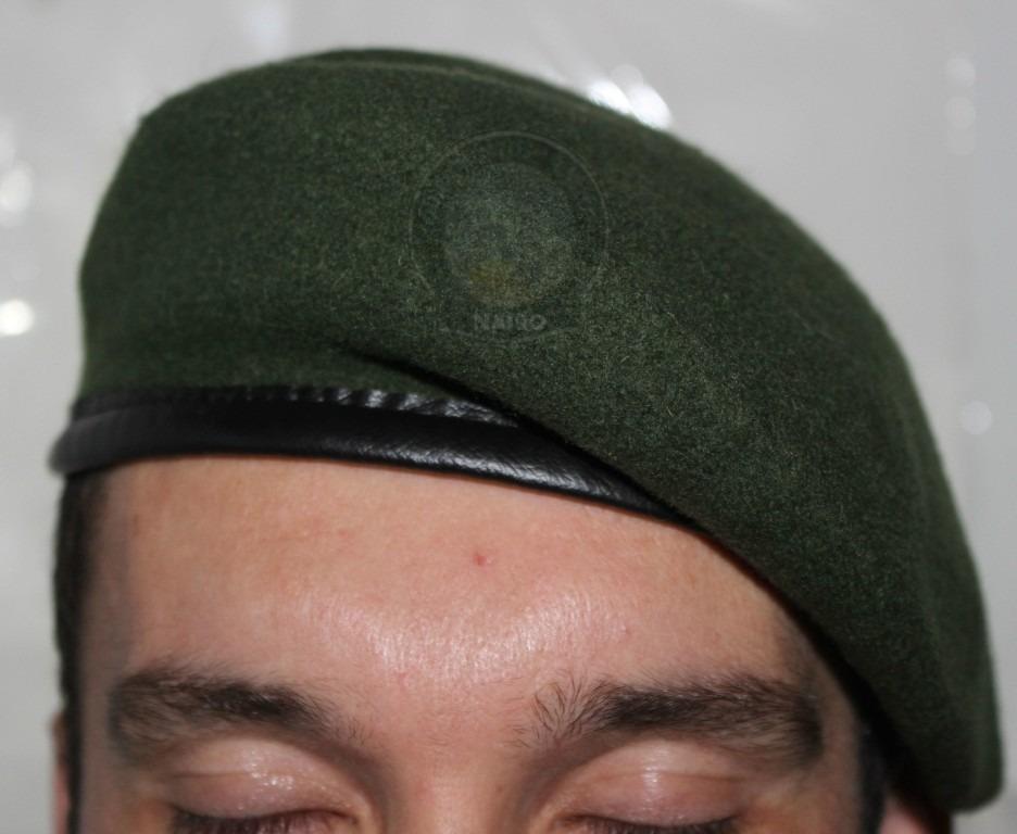 474a969e969f8 Boina Bakarra Francesa Militar Exército Verde Preta Vermelha - R ...