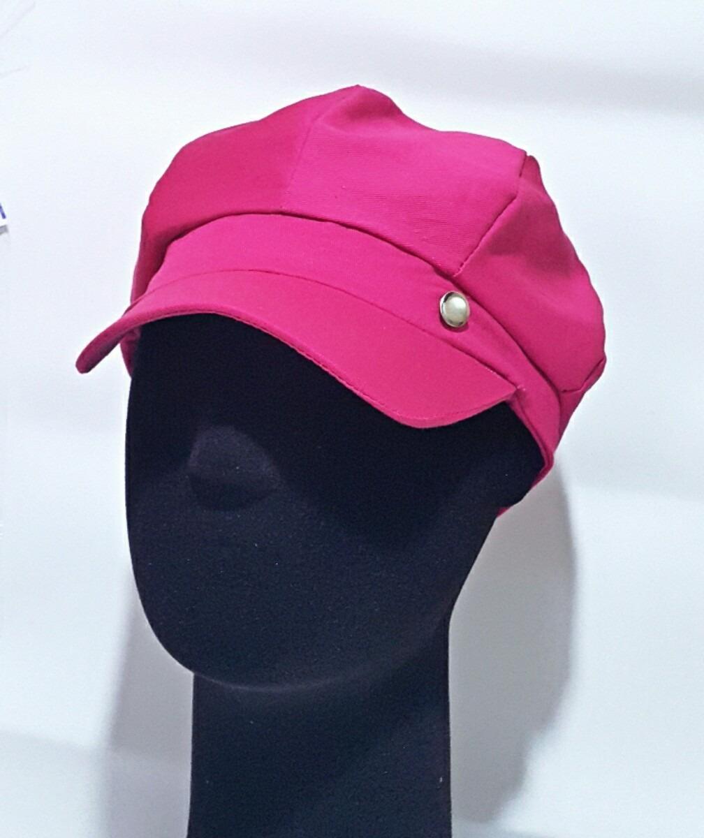 Boina Feminina Boina Cap Gorro Feminina Boina Rosa Pink - R  129 6d7042cf52e