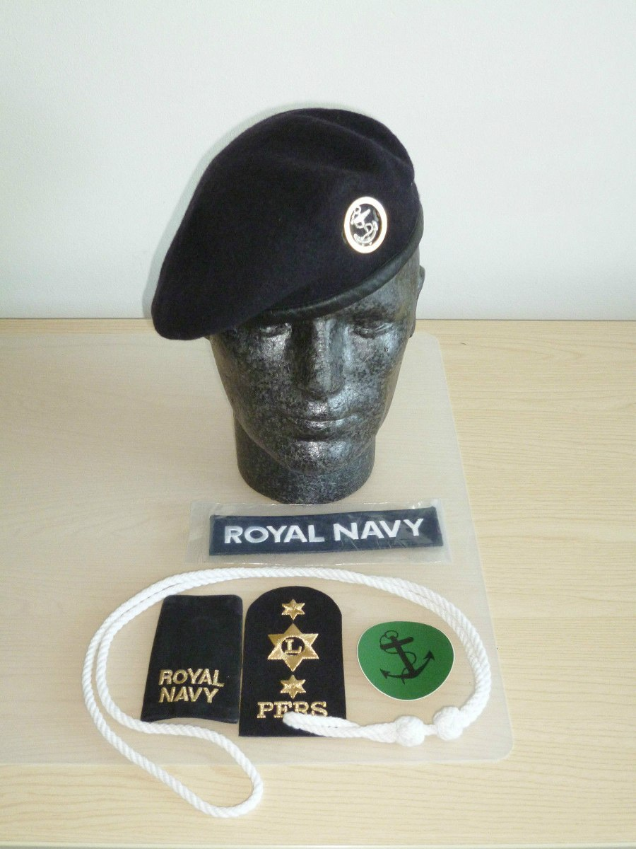 boina britânica - cadete marinha - t60. Carregando zoom. a0a737fafa2