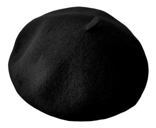 boina campo negra lana - la sombra del arrabal