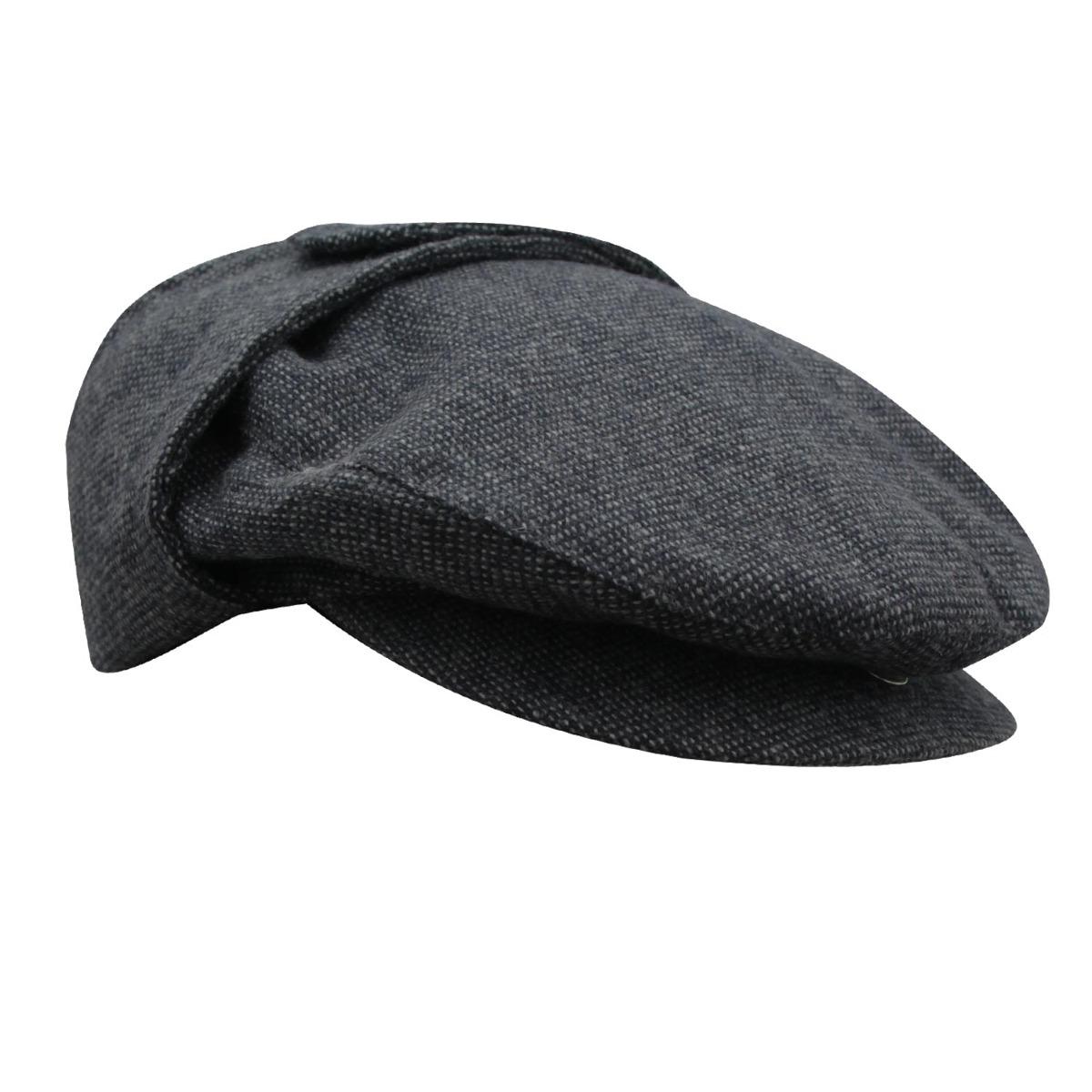 boina com tapa orelha tradicional sandoná-cinza-tam 59. Carregando zoom. b3e1d95dd75