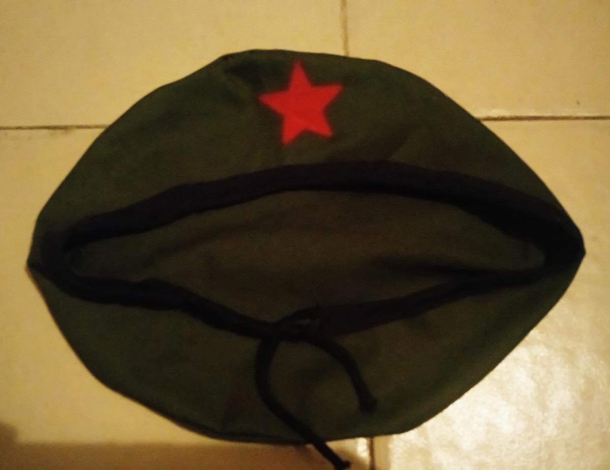 Boina Cubana Con Estrella Roja -   220.00 en Mercado Libre a59a06ac520