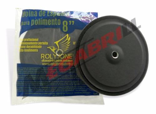 boina de espuma grafite macia com prato 5  rolly jones