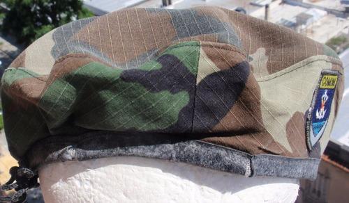 boina de infanteria de marina paraguay navy beret rare