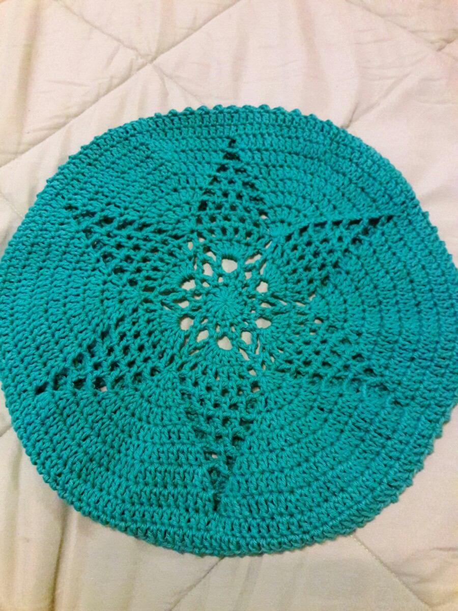 a81232e7f2b73 boina de lana tejido a mano al crochet. Cargando zoom.